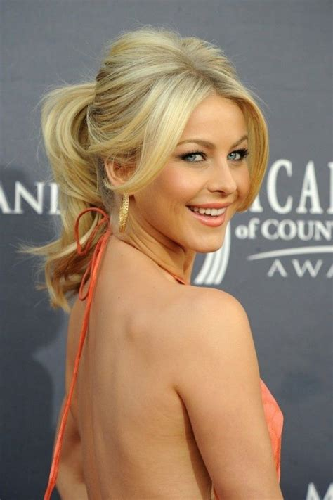 julianne hough with bangs 5 party ready ponytail hairstyles fashionizers com