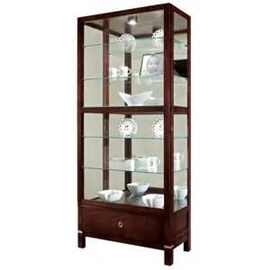 Curio Cabinet Furniture Howard Miller Williamson Curio Cabinet 680515