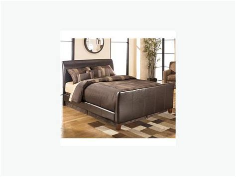 Leather Headboard And Footboard king leather headboard footboard rails south