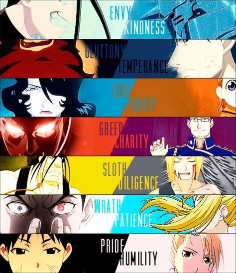Anime 7 Heavenly Virtues by 7 Sins And 7 Virtues Anime Seven Deadly