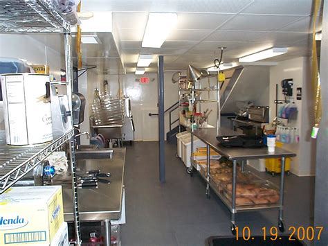 preparation kitchen current commercial project