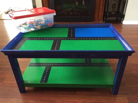 How To Build A Lego Table by Lego Table Stop Hitting Your