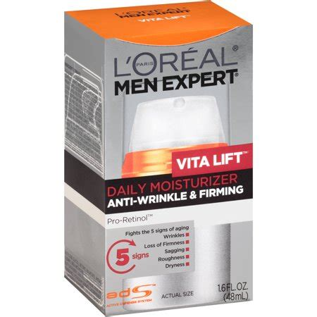 buy l or 233 al expert vitalift 5 daily moisturiser complete anti ageing 50 ml incl shipping upc 071249017609 l oreal s expert vita lift anti wrinkle firming moisturizer