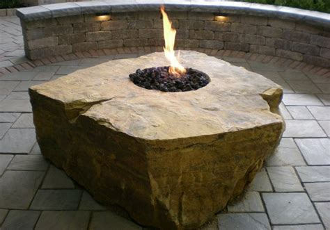 Fire Pit Glass Windshields Fireboulder Com Large Firepit