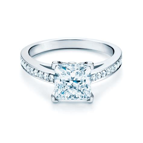 Shop Engagement Rings by Grace Princess Cut Engagement Ring Co