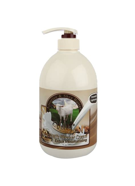 Sabun Badan Elizzer Shower Goat S Milk 500ml velvy goat s milk shower moist licorice shea b btl 1000ml klikindomaret