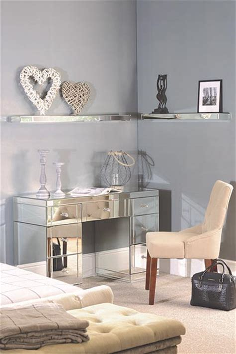 mirrored wall shelves add magical sparkle to your home with mirrored