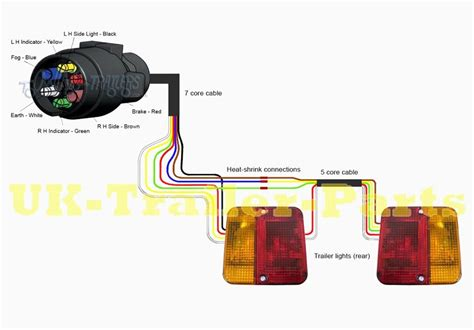 light wiring diagram for trailer wiring diagram