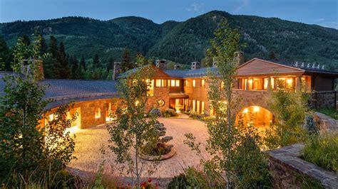 contemporary mountain home  aspen   sale