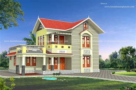 design house model modern kerala house model at 1700 sq ft