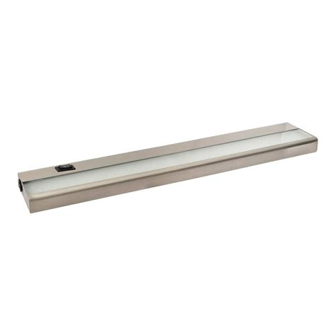 under cabinet led light bar hardwired shop amax lighting 24 in hardwired plug in under cabinet