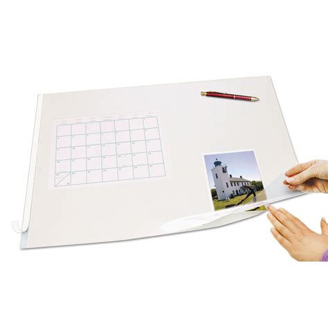 Artistic Second Sight Desk Protector by Browse Second Sight Clear Plastic Desk Protector And Other