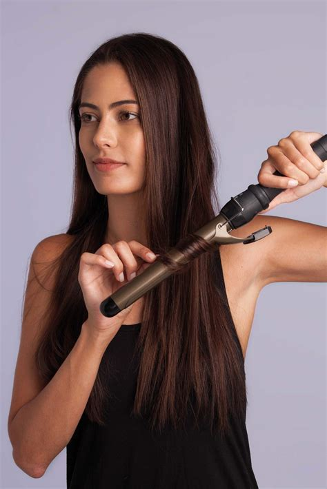how to use a curling iron on really long hair