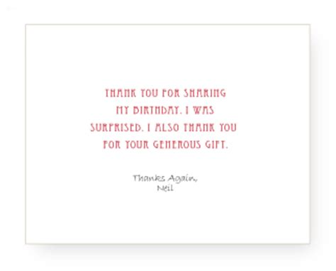 Thank You Card Inside