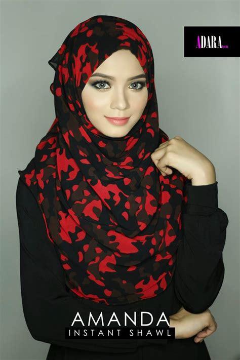 Cantik Kerudung Instant Shawl instant shawl murah dan cantik shawl instant yang cantik