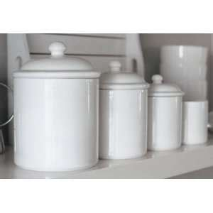 white kitchen canister sets pamela ceramic canister sets on popscreen