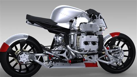 kickboxer motorcycle wraps awesome around turbocharged 2