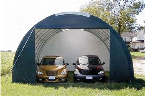 Canvas Garages by Bels Storage Shed 20 X 20 Square Canvas