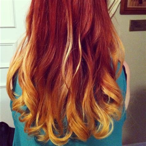 i dyed my hair red and it turned black 167 best images about red orange ombre hair on pinterest