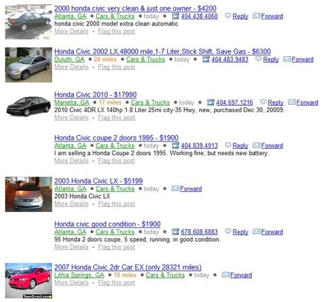 craigslist atlanta used boats craigslist atlanta trucks under 1000 autos post