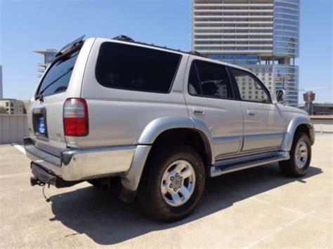 how cars engines work 1997 toyota 4runner security system sell used 1997 toyota 4runner limited 4x4 fully loaded extra clean and nice runs great in irving