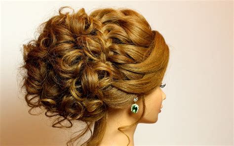 bridal hairstyle for medium hair tutorial updo with braid