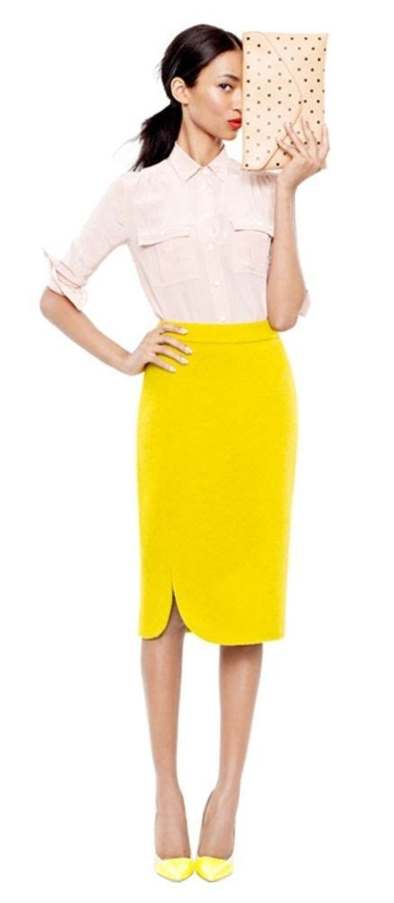 17 best images about yellow pencil skirt
