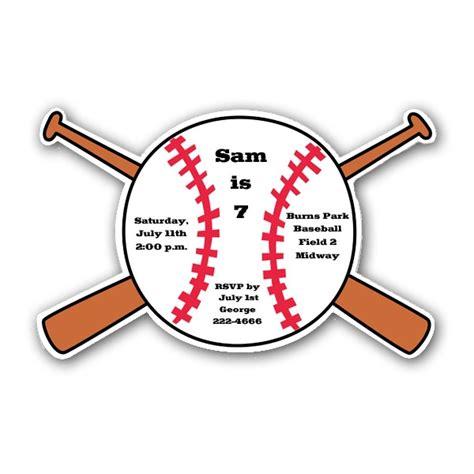 Baseball Birthday Card Template by Birthday Invitations Free Printable Baseball Birthday