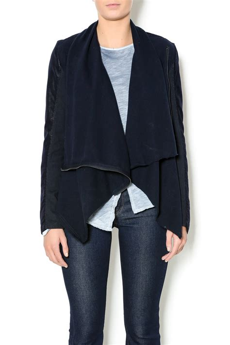 drape front jacket blank nyc drape front jacket from new york city by olive