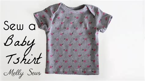 envelope neck pattern sew a baby tshirt envelope neck t shirt youtube