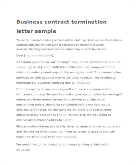 contract cancellation acknowledgement letter 41 acknowledgement letter exles sles doc