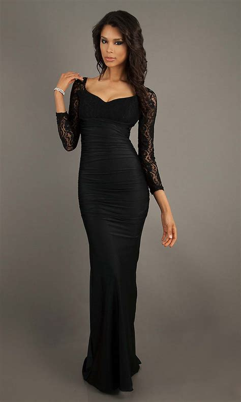 long sleeve lace prom dresses lace prom dress dressed up girl