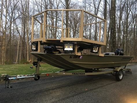 bowfishing fishing boat custom bowfishing boat