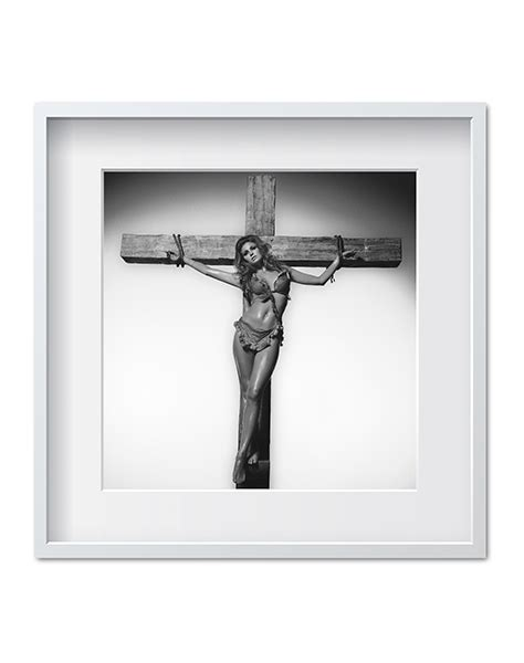 raquel welch  terry oneill cross bw iconic images