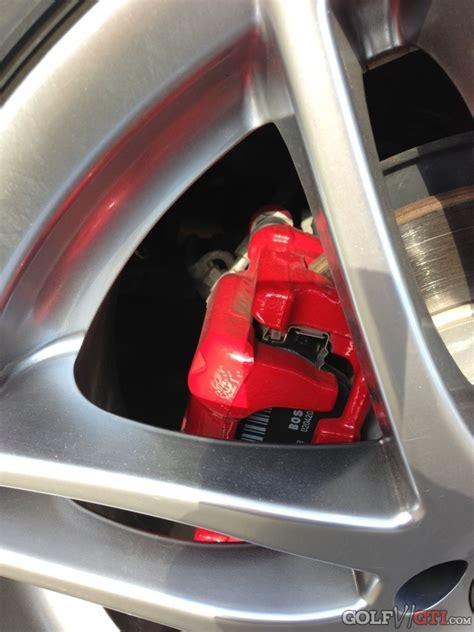Bremssattel Lackieren Nrw by Farbe Der Bremss 228 Ttel Bleicht Aus Was Tun Golf Vi Gti