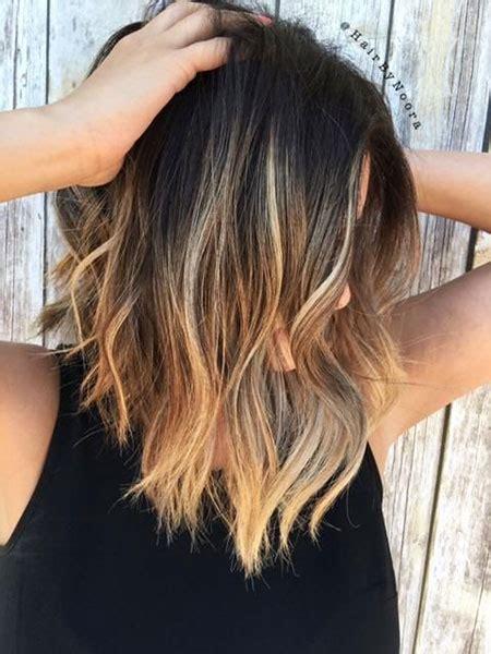 brunette hair to blonde short 29 popular short balayage hair short hairstyles
