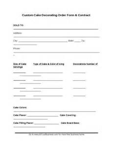 free cake decorating contract sample template cake autos