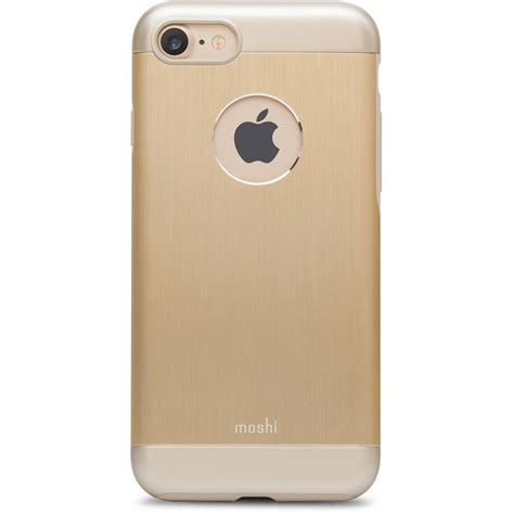 Iphone 7 B by Moshi Armour For Iphone 7 Gold 99mo088231 B H Photo