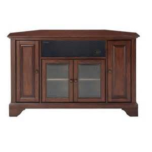 tv stands at home depot crosley lafayette mahogany corner aroundsound tv stand