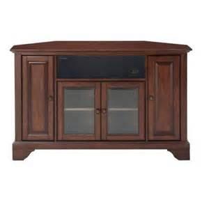 home depot tv stands crosley lafayette mahogany corner aroundsound tv stand