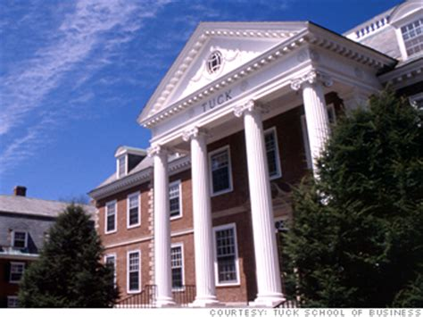Dartmouth Tuck Mba Application Management by 3 At Tuck Difficult But Not Impossible