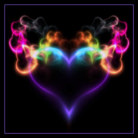 colorful wallpaper we heart it free colorful smoking heart phone wallpaper by uzueta