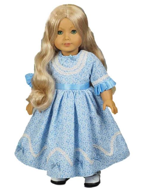 doll clothes 1814 style sunday gown for 18 quot american 168 doll clothes
