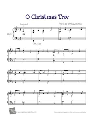 christmas is caring chords o tree by piano sheet sheetdownload