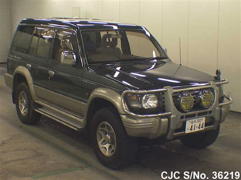 mitsubishi pajero 1996 1996 mitsubishi pajero green for sale stock no 36219