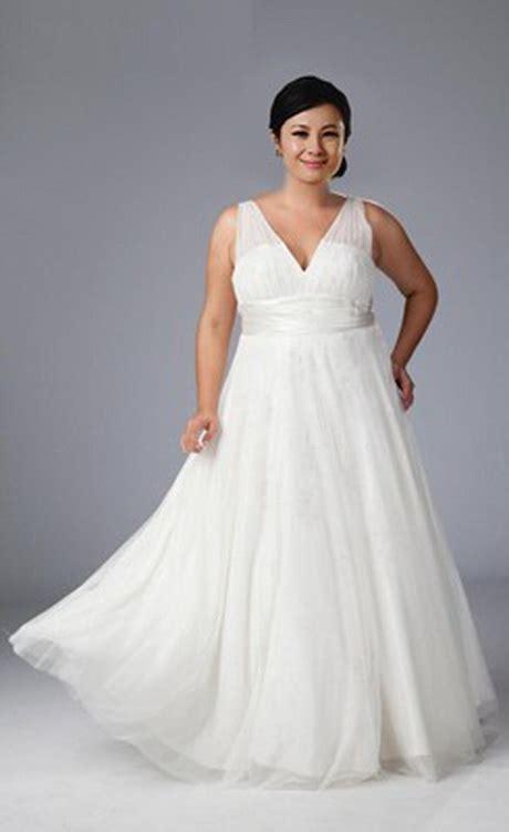 wedding dresses  heavy women
