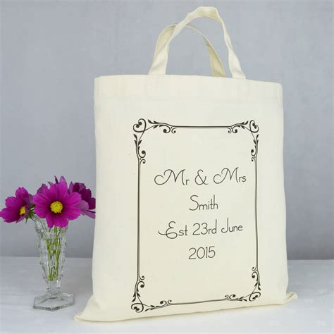 Exceptional Christmas Wedding Favors #2: Original_personalised-mr-and-mrs-wedding-gift-bag.jpg