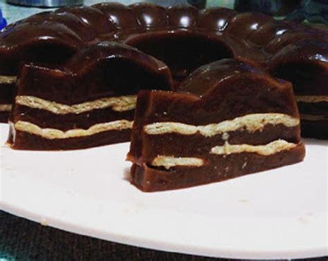 membuat puding mie resep membuat puding cokelat lapis biskuit katalog kuliner