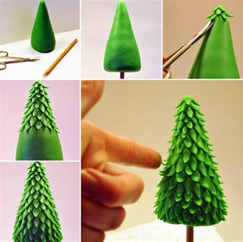 how to make icing trees how to make a tree topper with fondant icing