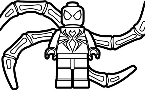 lego spiderman coloring pages games lego spiderman and batman coloring pages for kids free
